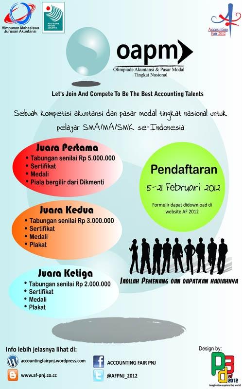 Finalis D Abc Binus Dan Juara 3 Olimpiade Akuntansi 2012 Di Stei Rawamangun Accounting And