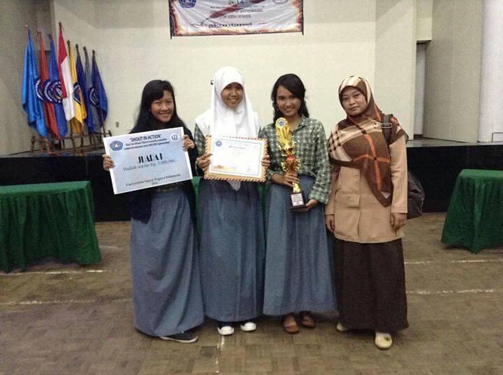 Juara 1 Lomba Akuntansi Di Usni Accounting And Economic