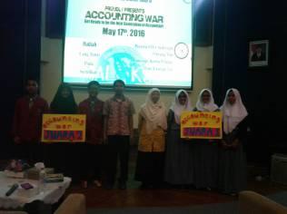 Juara 1 Accounting War Di Uin Accounting And Economic